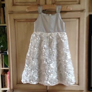 Monsoon princess dress girls EUC